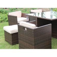 6 seater patio furniture set richmond garden 2016 clearance rattan furniture verano cannes 6