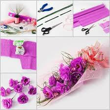Make Flower With Paper - share there are many ways to make flowers with chocolates and