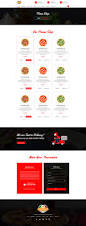 pizza builder online pizza making restaurant psd by createuiux
