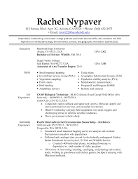 Sample Resume In Canada by Rachel Nypaver Cv 2015 Usa Jobs