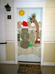 Christmas Tree Door Decoration Contest Decor Office Door Decorating Ideas