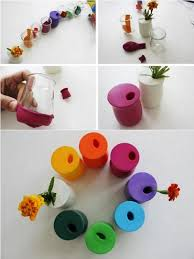 home design diy diy balloon flower vase home design garden architecture