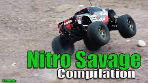 best nitro monster truck hpi savage x 4 6 nitro monster truck compilation pure sounds