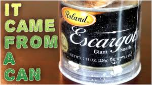 giant drink giant snails in a can youtube