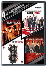 Daniel Ocean Business Card Amazon Com 4 Film Favorites Ocean U0027s Collection Ocean U0027s 11 1960