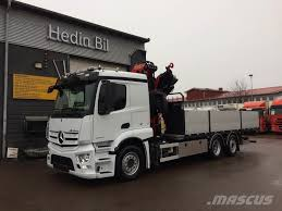 mercedes trucks for sale in usa used mercedes actros 2543l crane trucks year 2017 for sale