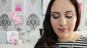 everyday makeup look feat the urban decay palette pink makeup tutorial makeup tutorials glamour makeup with phan mice