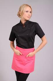 blouse de cuisine femme veste cuisine femme lotus blanc réf lilli tout pour l ouvrier