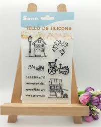 Sho Clear house and shop design clear transparent st diy scrapbooking paper