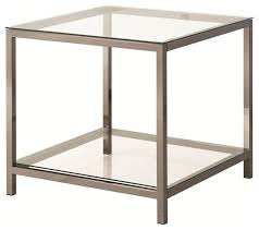 glass top end table contemporary side tables and end tables