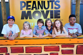 the peanuts who voices the peanuts the new movie enlists a cast you u0027d never