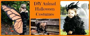 Childrens Animal Halloween Costumes Diy Animal Halloween Costumes 5 Minutes Mom
