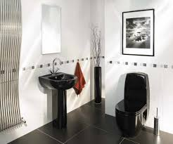 white tile bathroom design ideas black and white tile bathroom see le bathroom decorating ideas