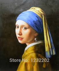 pearl earring painting copy the painting girl with a pearl earring realism