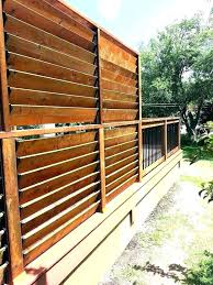 Backyard Screening Ideas Privacy Screen For Deck Railing Privacy Deck Screen Deck Railing