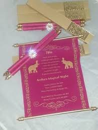 Scroll Invitation Rods Scroll Invitation Rods Only Perfect For Invitation Designers And