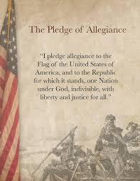 I Pledge Of Allegiance To The Flag Pledge Of Allegiance Printable Tim U0027s Printables