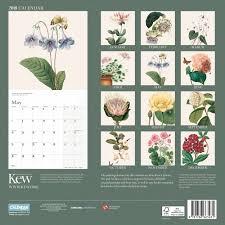 botanical calendars royal botanical gardens kew floral illustrated calendar calendar