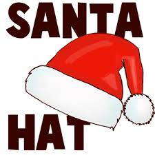 how to draw santa hats with easy steps how to draw step by step