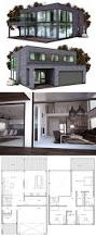 Modern Architecture Floor Plans 25 Best Modern Home Plans Ideas On Pinterest Modern House Floor