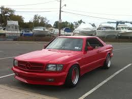 mercedes 560 sec coupe for sale 1992 the hammer amg widebody coupe search automotive