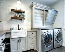 Storage Ideas For Laundry Room Laundry Cabinet Ideas Wiredmonk Me