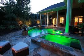 Backyard Led Lighting Atlanta Pool Builder Custom Pool U0026 Patio Led Lighting Photos