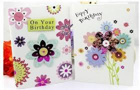 custom paper birthday gift card music card with happy birthday