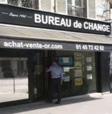 meilleurs bureaux de change aps change et or achat et vente d or 30 avenue friedland 75008