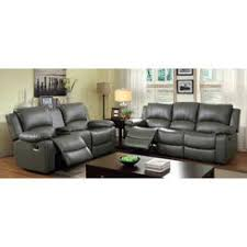 Gray Recliner Sofa Epic Gray Leather Reclining Sofa 91 For Modern Inspiration