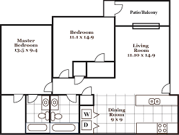 9 X 9 Bedroom Design Willow Creek Apartments The Wooten Company