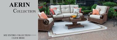 luxury wicker patio furniture by open air lifestyles