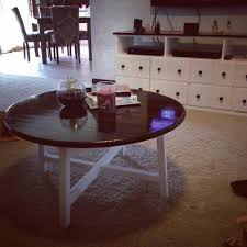 ana white round x base coffee table diy projects