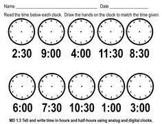 home office 15 best images of digital time telling worksheets