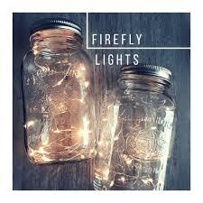 decoration rustic wedding diy firefly lights fireflies in