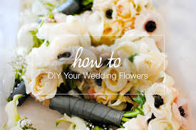 Diy Bridal Bouquet How To Diy Wedding Flowers Loverly Wedding Planning