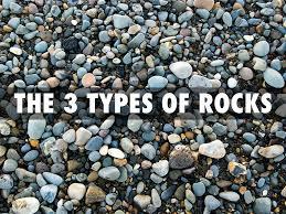 Types Of Rocks 3 Types Of Rocks By Jorden Brown