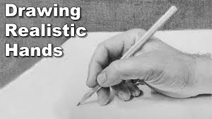 how to draw hands draw along class realistic hand drawing