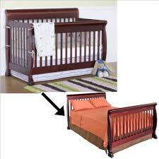 Bed Rails For Convertible Crib Davinci Kalani 4 In 1 Convertible Crib Set W Size Bed