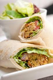 arab wrap falafel pita bread roll wrap sandwich stock image image of