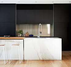 White Laminate Kitchen Cabinets Kitchen White Steel Barstools Light Laminate Floor Arched Modern