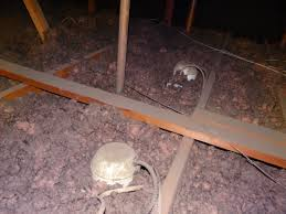 Insulation Around Recessed Lighting Before And After Pictures Adding Cellulose To An Attic