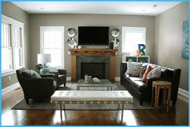 small living room ideas with fireplace and tv as small living room