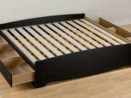 Plans For Platform Bed With Storage Drawers by Platform Bed Frame With Storage Plans Frame Decorations