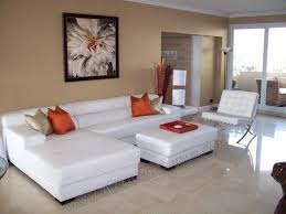 Modern Leather Living Room Furniture Living Room With White Leather Sofa Coma Frique Studio 9be46bd1776b