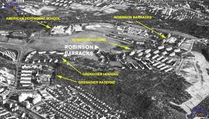 Map Of Stuttgart Germany by Grenadier Kaserne Stuttgart Robinson Barracks U0026 Grenadier