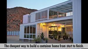 simple step by step plans to design and build a container home