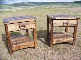 Rustic End Tables Rustic Wood End Tables Rizz Homes