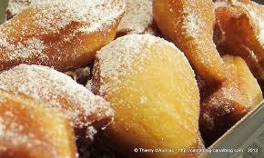 cuisine lyonnaise recettes bugnes lyonnaises bien gonflées en replay ici un grain de