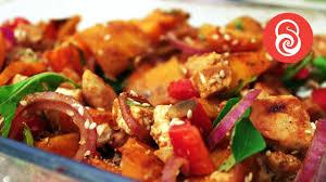 roasted pumpkin salad recipe thanksgiving dinner